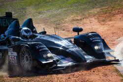 Spin for #551 Level 5 Motorsports HPD ARX-03b HPD: Scott Tucker, Marino Franchitti, Ryan Briscoe