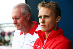 John Booth, Marussia F1 Team Team Principal with Max Chilton, Marussia F1 Team