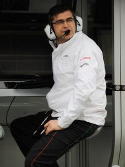 Bradley Joyce, Sahara Force India F1 Race Engineer