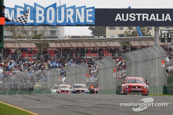 Fabian Coulthard, Lockwood Racing takes the win