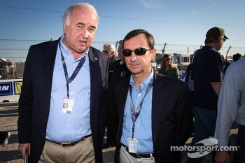 WEC consultant Frdric Henry-Biabaud and ACO President Pierre Fillon