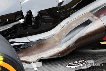 Lotus F1 E21 exhaust detail
