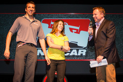 Drivers presentation: Justin Wilson, Dale Coyne Racing Honda and Ana Beatriz, Dale Coyne Racing Honda