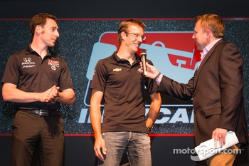 Drivers presentation: Simon Pagenaud, Schmidt-Hamilton Motorsports Honda and Sbastien Bourdais, Dragon Racing Chevrolet