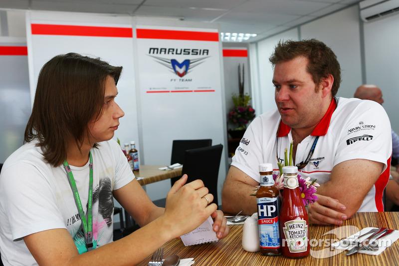 Dave Greenwood, Marussia F1 Team Race Engineer