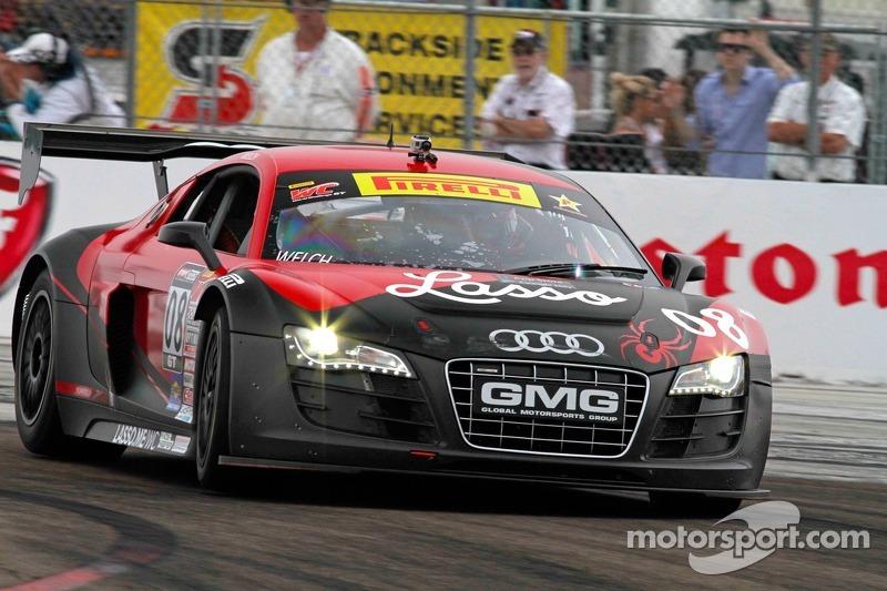 Alex Welch, Global Motorsports Group/Spyder/Lasso/GMG Audi R8