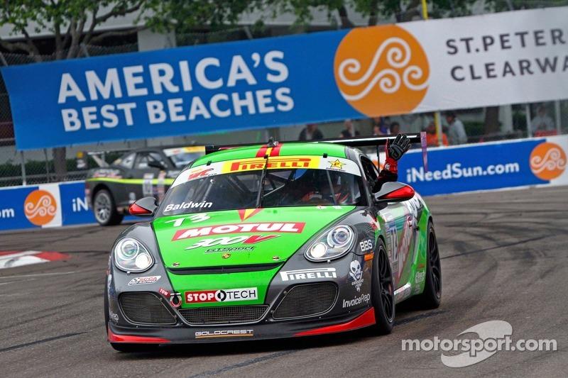 Jack Baldwin, GTSport Racing with Goldcrest/Motul/Stoptech/Invoice Prep/Porsche Cayman S