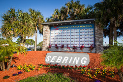 Sebring International Raceway wall of champions