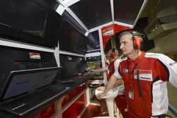 Ducati team members