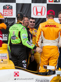 Michael Andretti, Ryan Hunter Reay