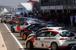 Pit lane, Fernando Monje, SEAT Leon WTCC, Campo Racing