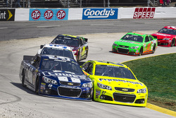 Jimmie Johnson and Paul Menard