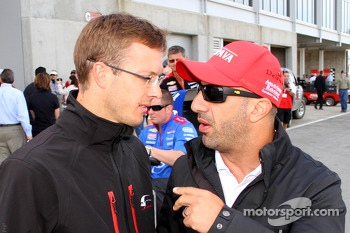 Sébastien Bourdais and Tony Kanaan