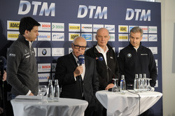 Torger Christian Toto Wolff, Sporting Director Mercedes-Benz, Hans Werner Aufrecht, Chairman of DTM, Dr. Wolfgang Ullrich, Head of Audi Sport, Jens Marquardt, Head of BMW Motorsport