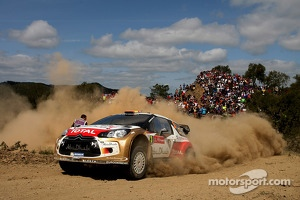 Dani Sordo, Carlos del Barrio, Citroen DS3 WRC, Citroen Total Abu Dhabi World Rally Team