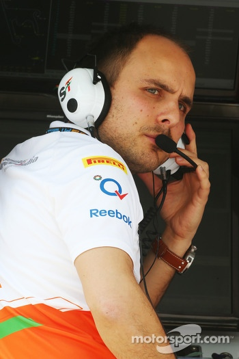 Gianpiero Lambiase, Sahara Force India F1 Engineer