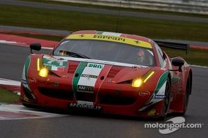#71 AF Corse Ferrari 458 Italia: Kamui Kobayashi, Toni Vilander