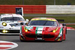 #71 AF Corse Ferrari F458 Italia: Toni Vilander, Kamui Kobayashi