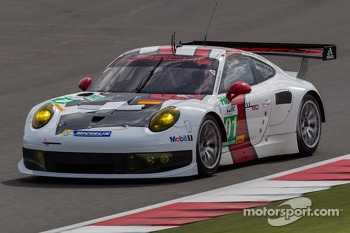 #91 Porsche AG Team Manthey Porsche 911 RSR: Jrg Bergmeister, Patrick Pilet, Timo Bernhard