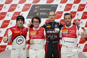 Belgian drivers, Laurens Vanthoor, Enzo Ide, Wolfgang Reip, Anthony Kumpen