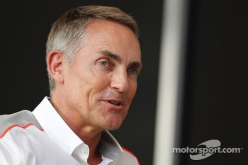 Martin Whitmarsh, McLaren Chief Executive Officer