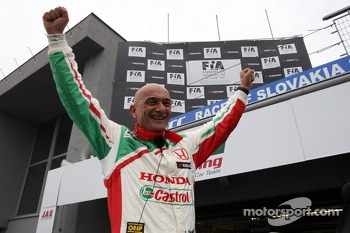 Gabriele Tarquini, Honda Civic, Honda Racing Team J.A.S.  pole position