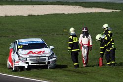 Crash, Tom Chilton, Chevrolet Cruze 1.6 T, RML