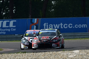 Tom Boardman, SEAT Leon WTCC,  Special Tuning Racing and Ren Mnnich, SEAT Leon WTCC, Mnnich Motorsport 