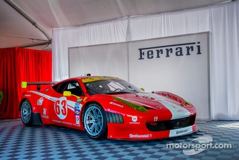 Ferrari of San Francisco Store Tent
