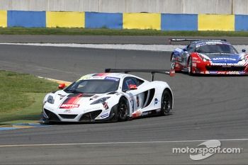 #12 Art Grand Prix Mc Laren MP4/12C: Grgoire Demoustier, Ulric Amado