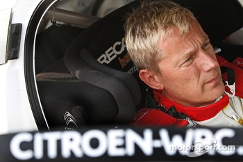 Jarmo Lehtinen, Citroën DS3 WRC, Citroën Total Abu Dhabi World Rally Team