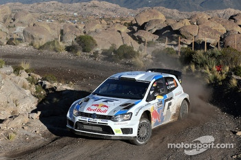 Andreas Mikkelsen and Mikko Markkula, Volkswagen Polo WRC, Volkswagen Motorsport