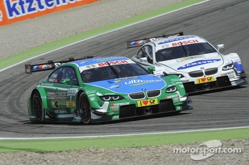 Augusto Farfus, BMW Team RBM BMW M3 DTM and Dirk Werner, BMW Team Schnitzer BMW M3 DTM