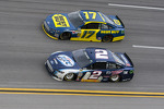Brad Keselowski and Ricky Stenhouse Jr.