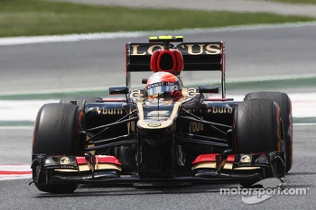 Romain Grosjean, Lotus F1