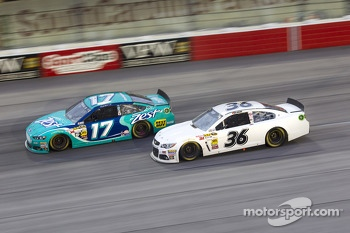 Ricky Stenhouse Jr. and J.J. Yeley