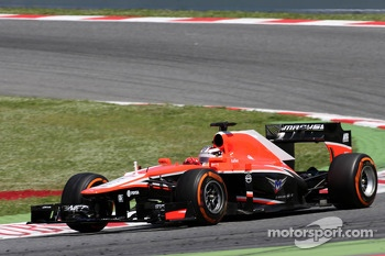 Jules Bianchi, Marussia Formula One Team 