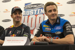 Mark Winterbottom and Jamie Whincup
