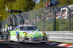 #40 Pinta Team Manthey Porsche 911 GT3 R (SP9): Michael Illbruck, Robert Renauer, Klaus Bachler, Michael Christens