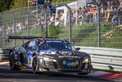 #29 Belgian Audi Club Team WRT Audi R8 LMS ultra (SP9): Laurens Vanthoor, Edward Sandström, Christopher Mies, Christopher Haase