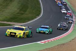Mike Rockenfeller, Audi Sport Team Phoenix Audi RS 5 DTM leads