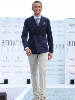 Max Chilton, Marussia F1 Team at the Amber Lounge Fashion Show