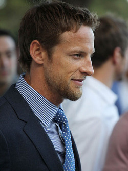Jenson Button, McLaren at the Amber Lounge Fashion Show