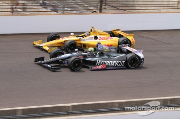 Ryan Hunter-Reay and Tony Kanaan
