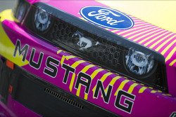 Detail of Travis Pastrana's car