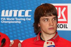Press conference, Mikhail Kozlovskiy, LADA Granta, LADA Sport Lukoil