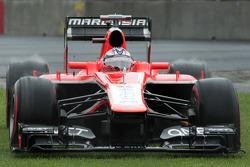 Jules Bianchi, Marussia F1 Team MR02 runs wide