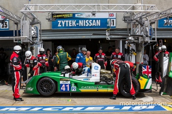 #41 Greaves Motorsport Caterham Motorsport Nissan: Alexander Rossi, Eric Lux, Tom Kimber-Smith