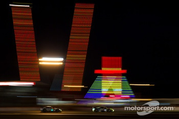 Lights at 24 Hours of Le Mans first night of qualifying