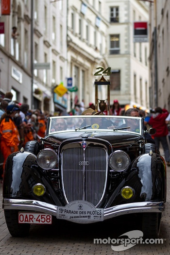 24 Hours of Le Mans Trophy at Grande Parade des Pilotes